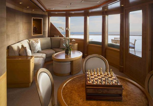 charter yacht with view of ocean