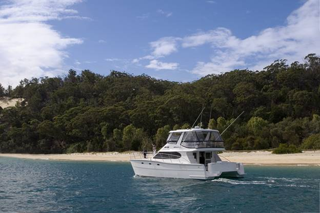 Beach View of Australian Yacht Charter